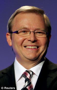 Υποστήριξη: Υπουργός Εξωτερικών της Αυστραλίας Κέβιν Ραντ είπε ότι η αλλαγή θα «κάνουν τη ζωή ευκολότερη»