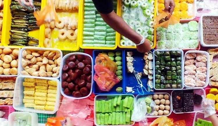 Image result for kuih di bazar ramadhan
