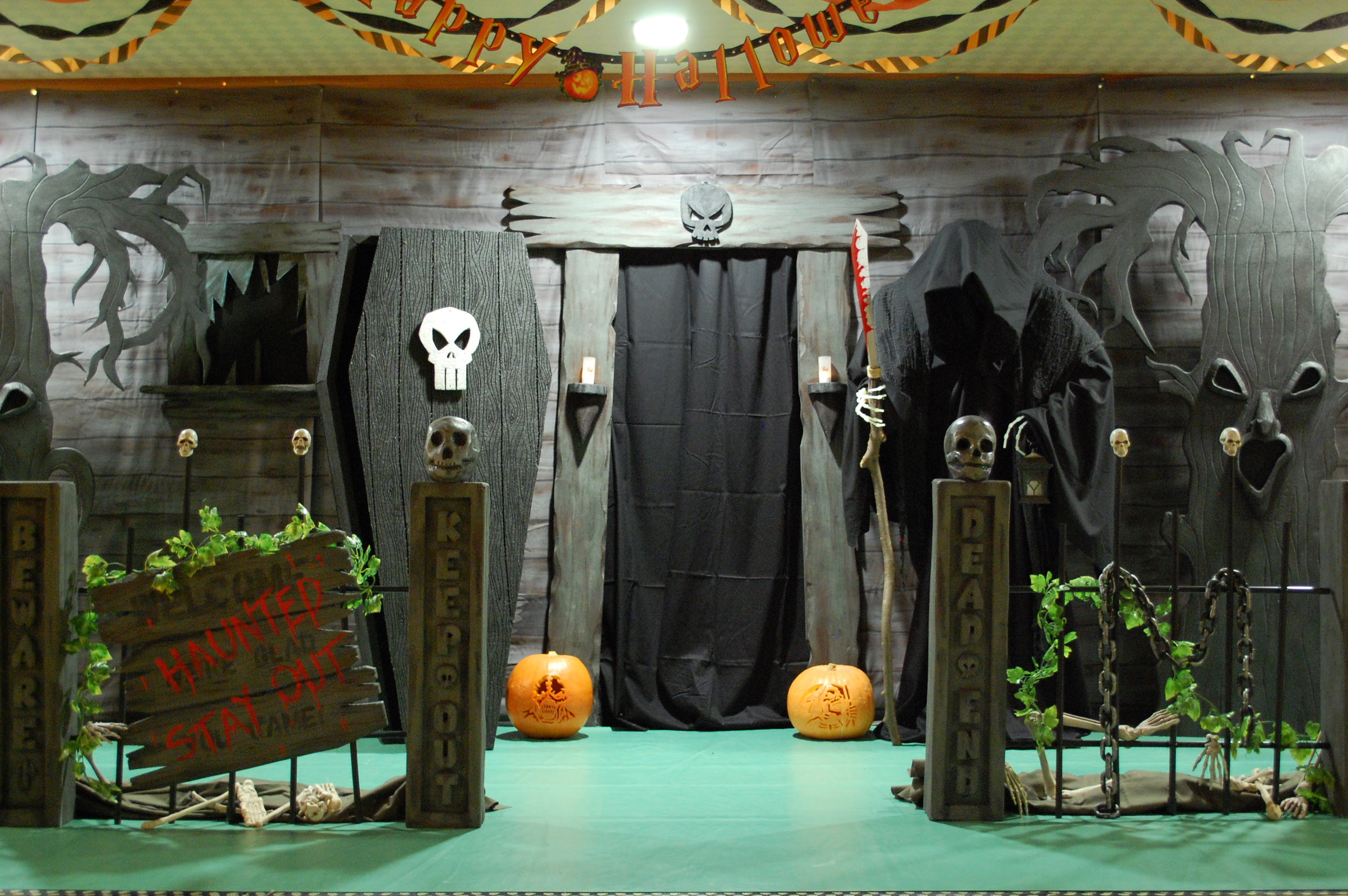 Haunted House Ideas Make Your Own Haunted House Decorating Ideas