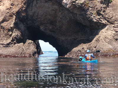 Will leads into the next series of arches and sea caves.