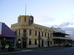 Railway Club Hotel, Seymour