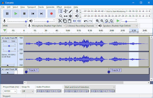 Audacity ® | Free, open source, cross-platform audio software for multi-track recording and editing.