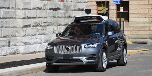 Uber self-driving car crashes into another car in Pittsburgh
