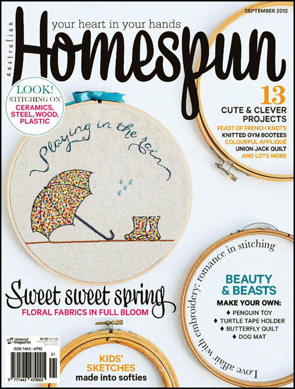 Homespun cover