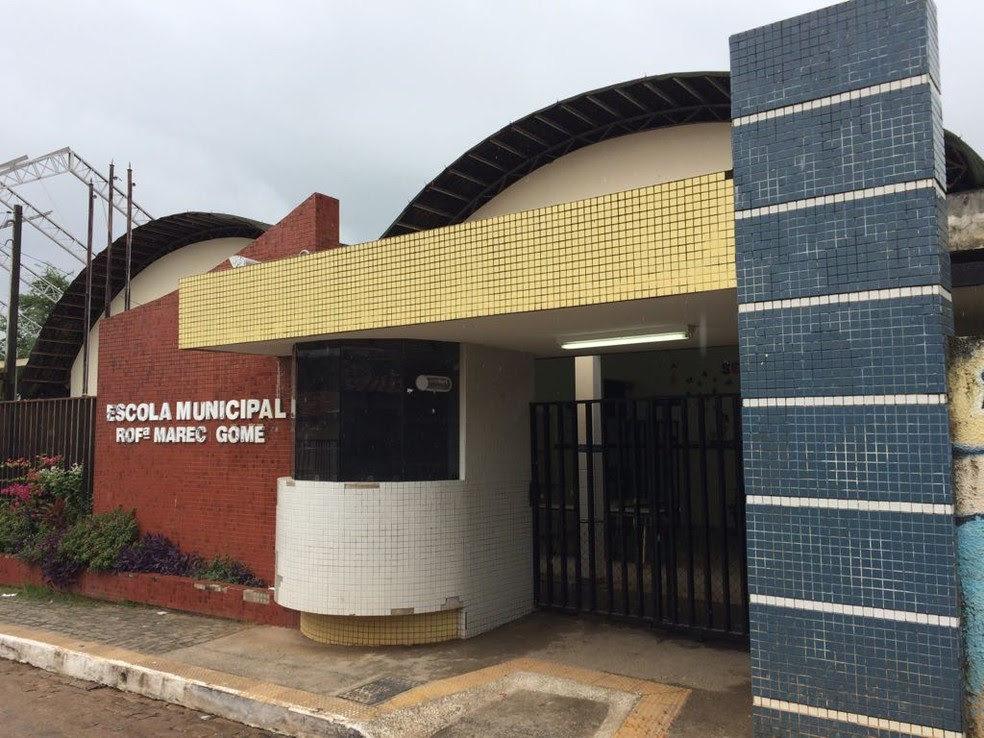 Escola atende 370 alunos do Ensino Fundamental (Foto: Kleber Teixeira/Inter TV Cabugi)