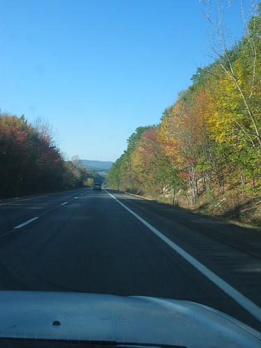 road to Rhinebeck
