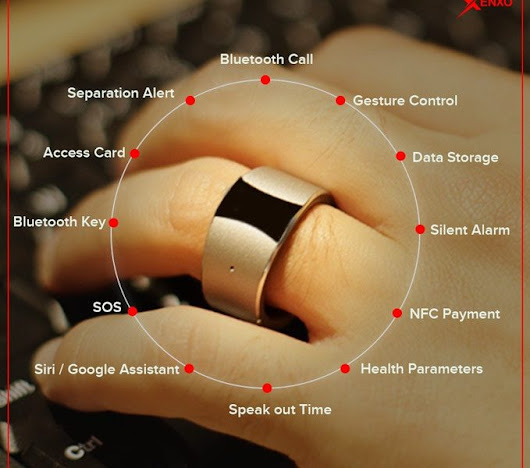 A ring for the future! - Control with wearables - Indian CEO