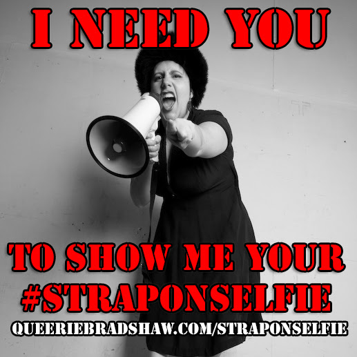 It's #StrapOnSelfie Week! Take a Photo, Win a Prize