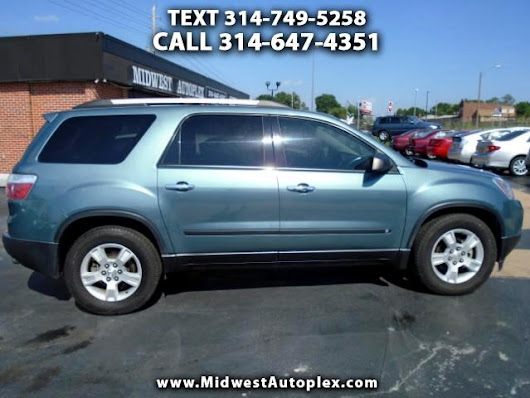 Used 2010 GMC Acadia SLE AWD for Sale in St Louis MO 63139 Midwest Autoplex
