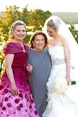 42nd First Lady Hillary Rodham Clinton, her mother Dorothy
