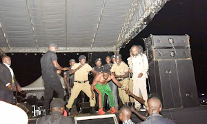 Bebe Cool forced off stage, 'saved' from angry mob at Lugogo