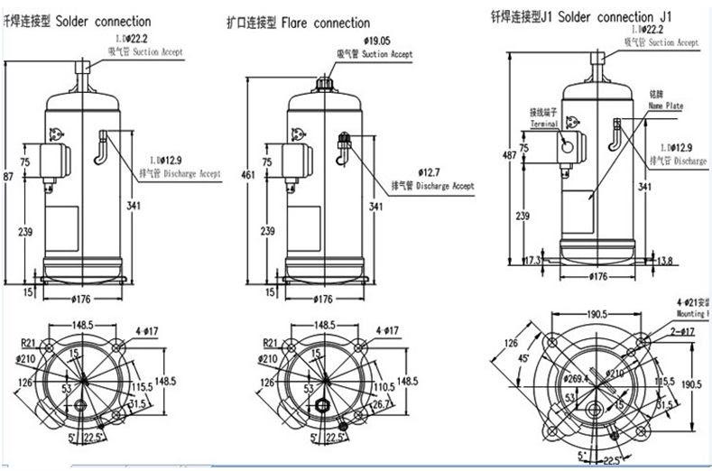 air conditioner compressor wiring diagram