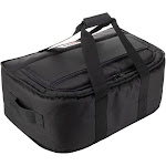 AO Coolers AOSNG38BK Stow-N-Go 38 Can Low Profile Portable Soft Cooler, Black by VM Express