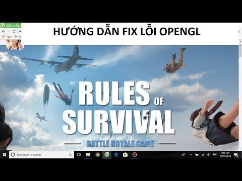 Rules of Survival: Cách sửa lỗi treo Logo trên PC hiệu quả 100%