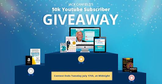 Jack Canfield's 50k YouTube Giveaway