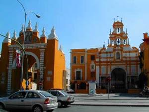 Foto de la Basilica la macarena de Sevilla