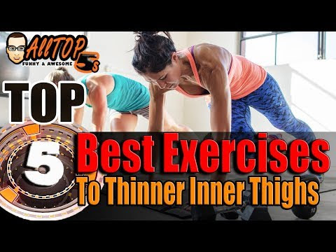 Top 5 Best Exercises To Thinner Inner Thighs by Alltop5s.com
