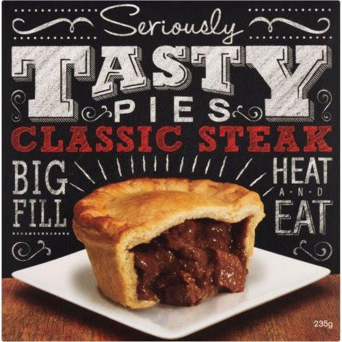 Seriously Tasty Pies Classic Steak (235g) / Roast Chicken ...