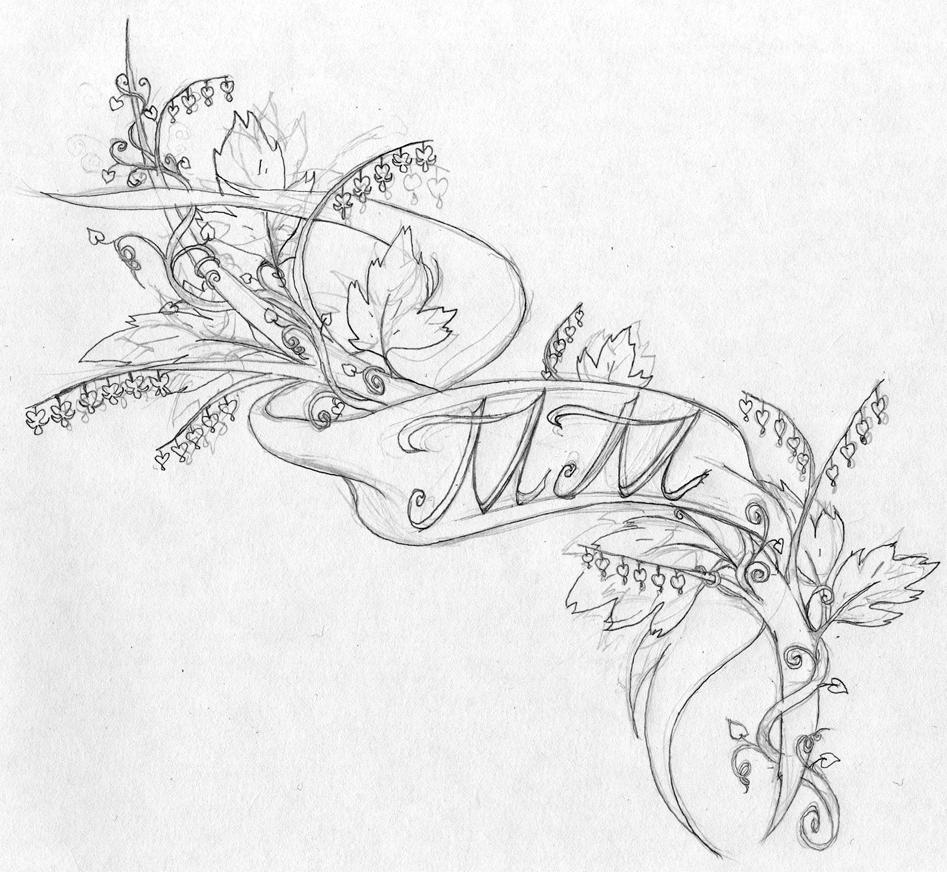 Cool Yuris Tattoo Sketch Designs For Women Tattoomagz