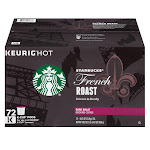 Starbucks French Roast Coffee (72 K-Cups)