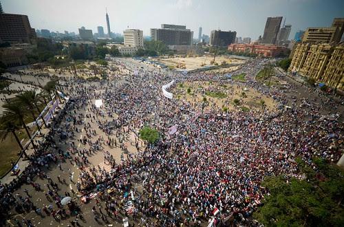 Panoramic pic for tahrir Sq. 9-9-2011 صورة بانورامية لميدان التحرير الجمعة