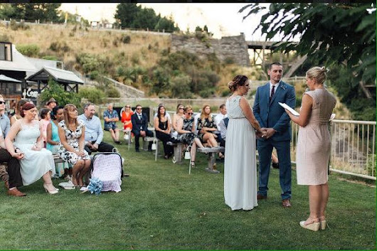 """I would recommend Charlotte to everyone! She is absolutely amazing!"" - Your Big Day - Charlotte Winkel Queenstown Wedding Celebrant"