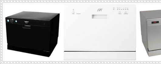 3 Popular Color Choice of Countertop Dishwasher