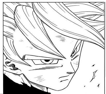 Mi Coloreado A Goku Ultra Instinto Del Manga Dragon Ball Español Amino