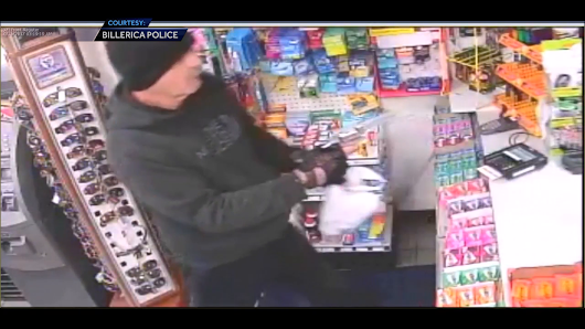 Tattooed man robs gas station at gunpoint