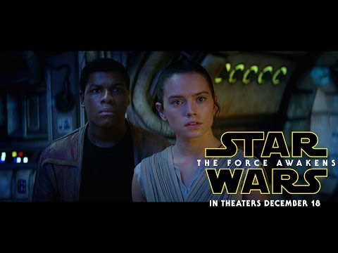 "Did You Watch The New ""Star Wars"" Trailer Yesterday?"