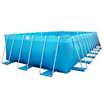 Splash-A-Round Pools 1105KIT Kool Pool Rectangle 15-Foot-by-25-Foot-by-48-Inch Pool