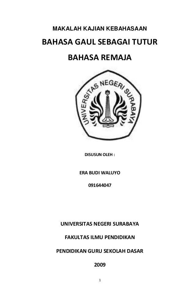 Contoh Cover Proposal Skripsi Bahasa Inggris - Kumpulan ...