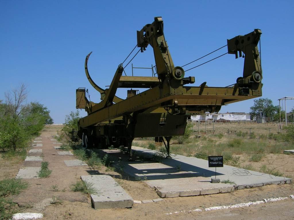 Trosportador do Foguete de Yuri Gagarin