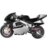 Xtremepowerus Gas Pocket Bike Motorcycle 40cc 4-Stroke Engine (Black)