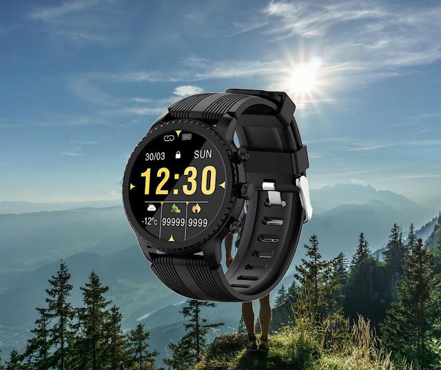【型格 Smart Watch!】具備無線充電、軍規防水:HAVIT M9005W 智能手錶