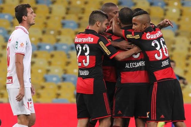Flamengo vence o Bangu, mas não consegue liderança