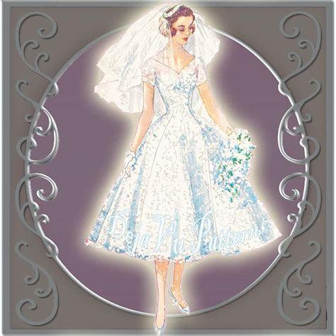 Simplicity 1461 Vintage 1950s Tea or Floor Length Wedding