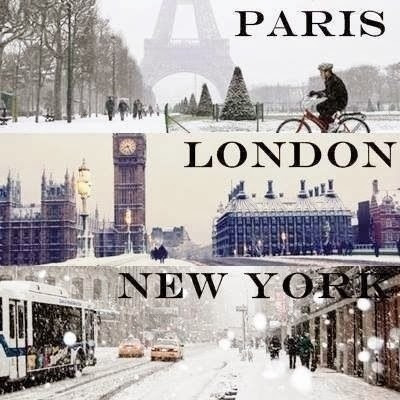 Winter In Paris London New York Pictures Photos And Images For