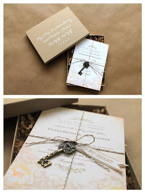 509 best DIY Wedding Invitations Ideas images on Pinterest