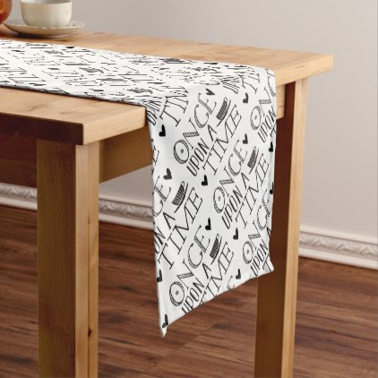 once upon a time short table runner