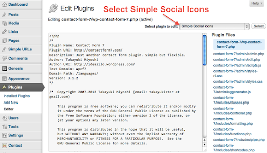 How to Reorder StudioPress's Simple Social Icons and Add Tooltips