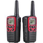 Midland - Pair of T31 FRS Radios - 26 Miles - Black/Red