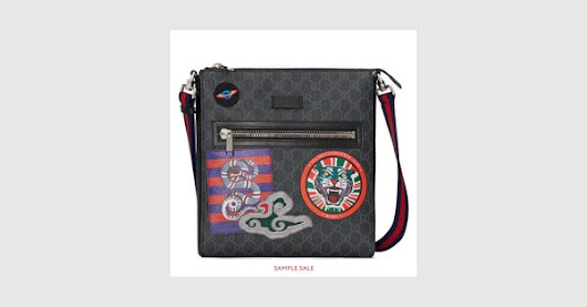 Night Courrier GG Supreme messenger - Gucci Men's Messengers Bags 4741379F23N8850