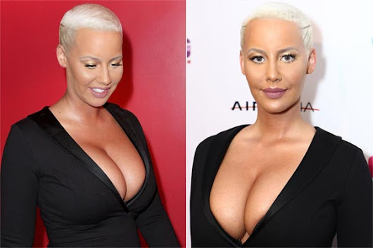 Did Amber Rose Get Butt & Breast Implants?