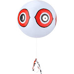 Terror-Eyes Inflatable Bird Scare Balloon Bird Repellent Predator Eyes Balloon(White)