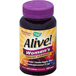 Nature's Way Alive! Women's Gummy Vitamins, 26 Fruits & Vegetables - 60 count