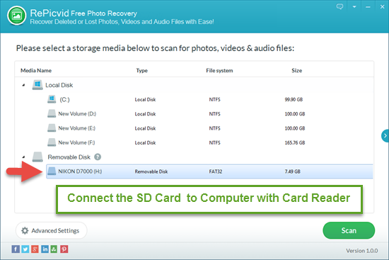 how to recover deleted videos from sd card free