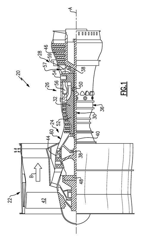 Patent US8402741 - Gas turbine engine shaft bearing