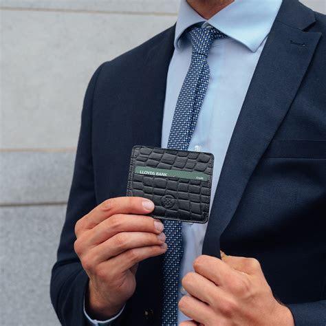 The Marco Croco   Luxury Faux Crocodile Leather Card Holder
