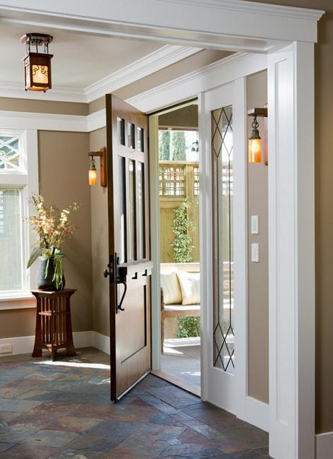 door entry tile designs  | Entry Door Painting